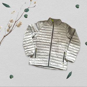 Kathmandu Men's Puffer Jacket Grey Size XL